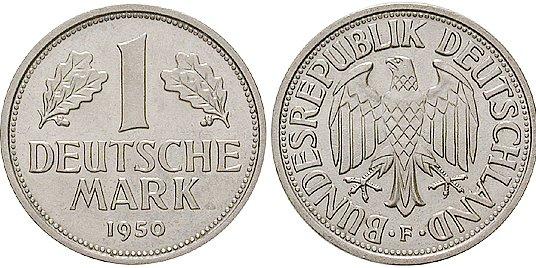 1 DM Münzen